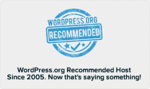 wordpress optimised host hosting managed bluehost